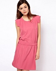 BZR Open Back Woven Dress