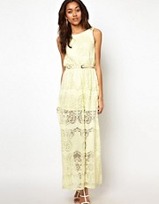 River Island Lace Maxi Dress