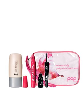 Image 1 ofPOP ASOS Exclusive Make Up Essentials Set SAVE 44% With Free Make Up Bag