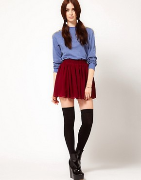 Image 1 ofHearts &amp; Bows Skater Skirt