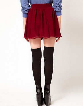 Image 2 ofHearts &amp; Bows Skater Skirt