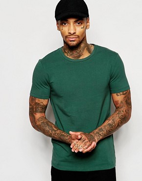 ASOS Muscle Fit T-Shirt With Crew Neck In Stretch