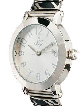 Image 4 ofLipsy Silver Steel Bracelet Watch