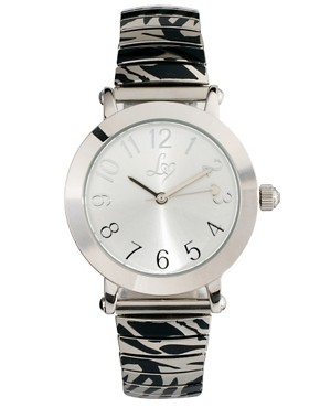 Image 1 ofLipsy Silver Steel Bracelet Watch