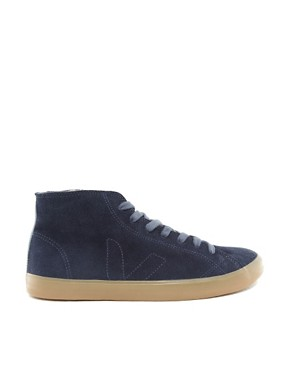 Image 4 ofVeja Indigenous Hi-Top Plimsolls