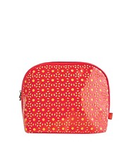 Tender Love & Carry Cut Out Wash Bag - Coral