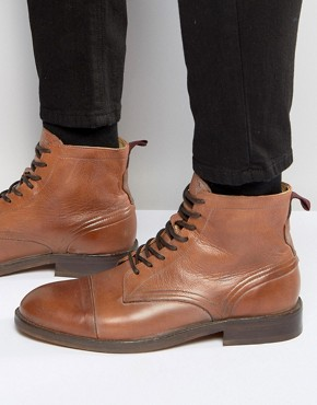 Hudson London Palmer Leather Boots