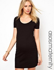 ASOS Maternity Bodycon T-Shirt Dress