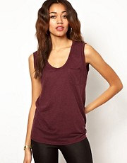 River Island Drop Armhole Tank