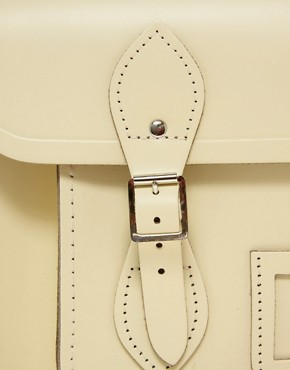 Image 2 ofCambridge Satchel Company Exclusive 14&quot; Leather Satchel