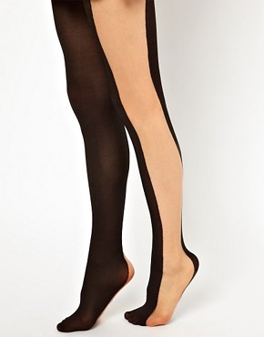Image 2 ofASOS Illusion Tights