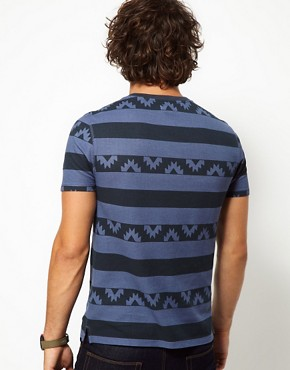 Immagine 2 di ASOS - T-shirt a righe in jersey di piqu