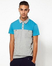 55DSL Polo Shirt Tillanova Colour Block