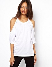 ASOS Top with Cold Shoulder