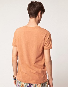 Image 2 ofASOS T-Shirt With Chest And Hem Print
