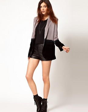 Image 4 ofUnconditional Dip Dye Boyfriend Jacket