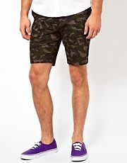 Vito  Shorts mit Tarnmuster