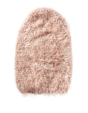 Image 4 ofASOS Fluffy Boyfriend Beanie
