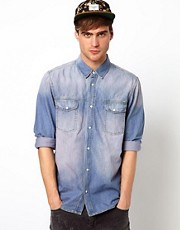 Solid Denim Shirt