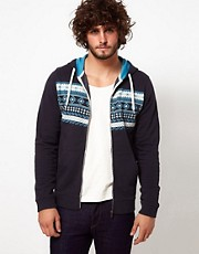 ASOS Hoodie With Aztec Print