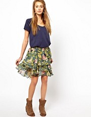 Denim &amp; Supply Tiered Mini Skirt