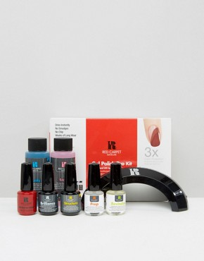 Image 1 ofRed Carpet Manicure Gel Polish Pro Kit - Professional LED Light