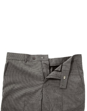 Image 3 ofASOS Skinny Fit Smart Trousers in Dogstooth