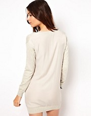ASOS Woven Back Jumper Dress