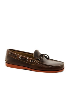 Image 1 ofQuoddy Canoe Moc Slip-On Loafers