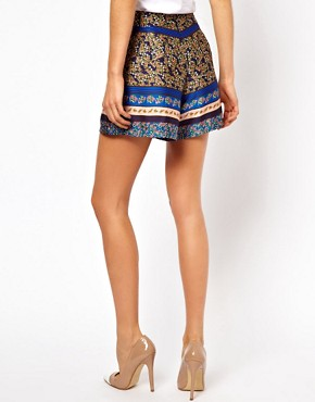Image 2 ofASOS Silky Shorts in Floral Print