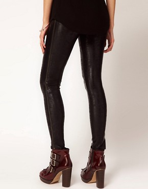 Image 2 ofKova &amp; T Side Zip Oxy Leggings