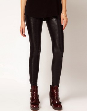 Image 4 ofKova &amp; T Side Zip Oxy Leggings