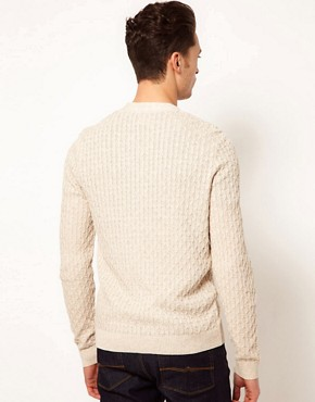 Image 2 ofASOS Cable Cardigan