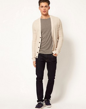 Image 4 ofASOS Cable Cardigan