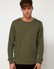River Island Quilted Sweat
