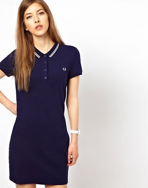 Image 1 ofFred Perry Twin Tipped Polo Shirt Dress