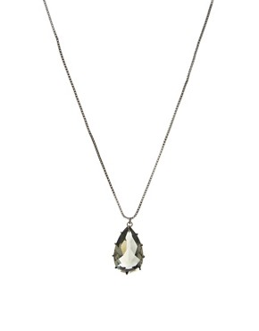Image 1 ofLes Nereides Diamantissime Drop Necklace