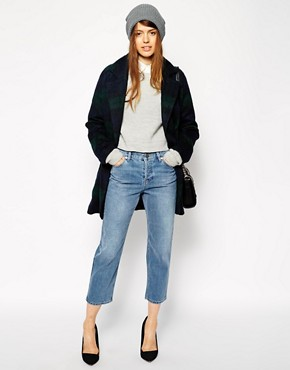 ASOS Maddox Parallel Jeans in Mid Vintage Wash