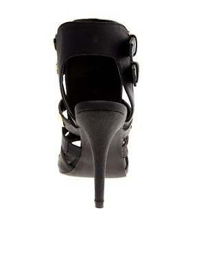 Image 2 ofRiver Island Gladiator Studded Sandals
