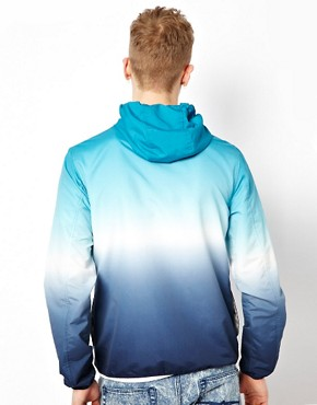Image 2 ofASOS Cagoule Jacket With Dip Dye