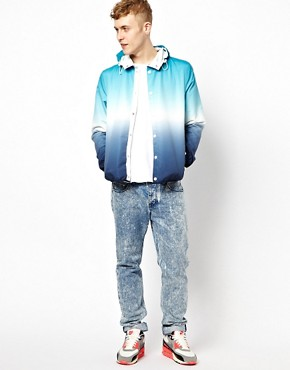Image 4 ofASOS Cagoule Jacket With Dip Dye