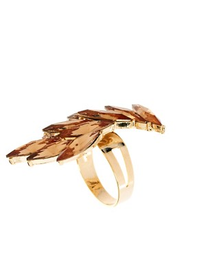 Image 1 ofTalullah Tu Jewel Wing Cocktail Ring