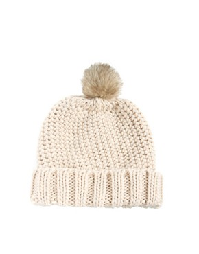 Image 2 ofASOS Fur Pom Beanie