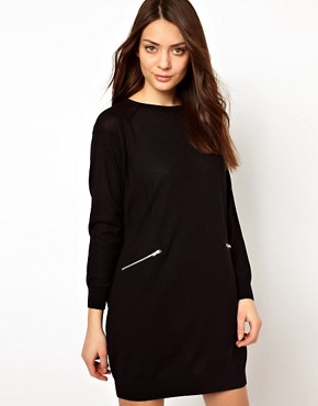 Image 1 ofWhistles Isa Zip Pocket Dress