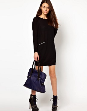 Image 4 ofWhistles Isa Zip Pocket Dress