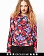 Image 1 ofMinkpink Sweatshirt In Floral Print
