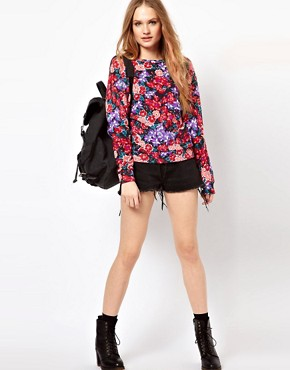 Image 4 ofMinkpink Sweatshirt In Floral Print