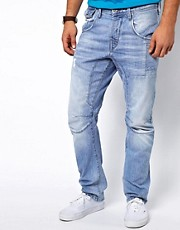 Jack &amp; Jones Stan Osaka Jeans in Anti Fit