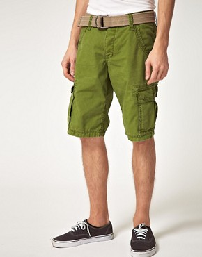 Image 1 ofEsprit Cargo Belted Short