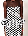 Image 3 ofFairground Magic Mouse Polka Dress